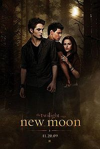 Twilight Saga: New Moon movie poster