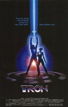 Tron (1982) Poster